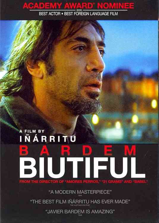 BIUTIFUL BY BARDEM,JAVIER (DVD)